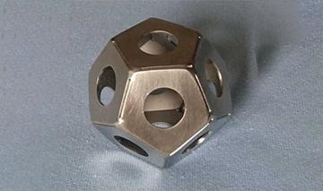 Platonischer Körper Dodekaeder Edelstahl kaufen