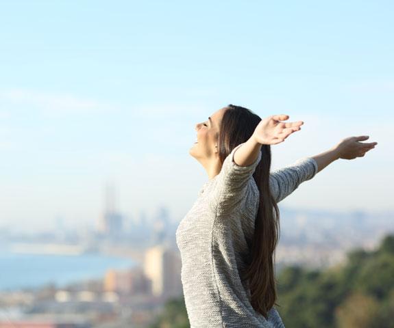Wohlfühlen durch saubere Luft