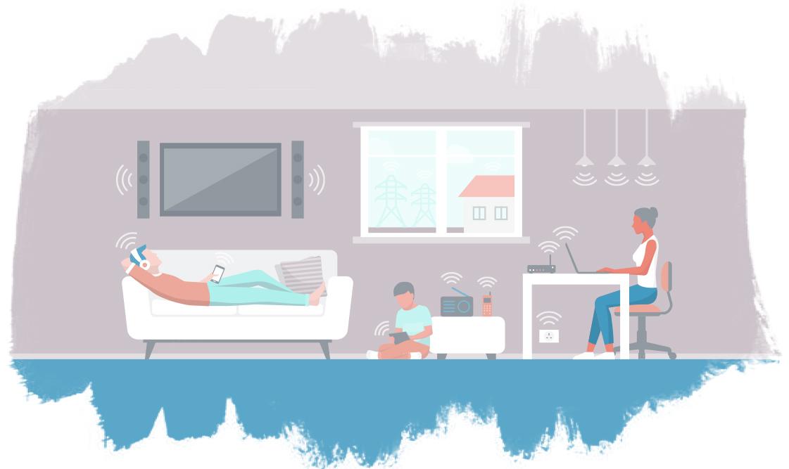 Elektromagnetische Strahlung im Haushalt